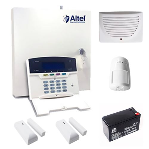 Altel Alarmas KIT CENTRAL INALÁMBRICA AFC-7664